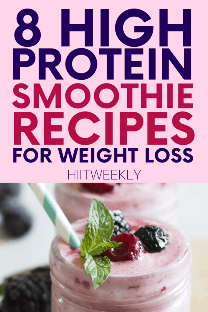 Make losing weight a little easier with these delicious protein smoothie recipes. Ideal as a breakfast of snack to get you from meal to meal.