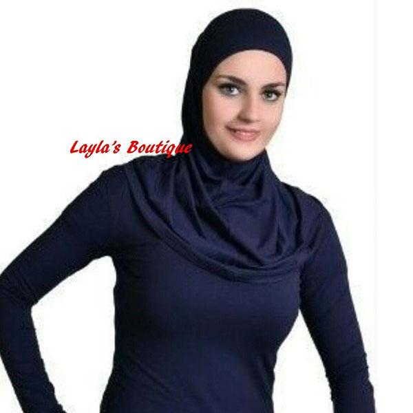Undershirt Women's Long Sleeve Stretch Plain Basic Cotton T Shirt free size