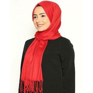 Al Ameera Hijab-Islamic-Solid-Pashmina-Hijab-Scarf-Head-Cover