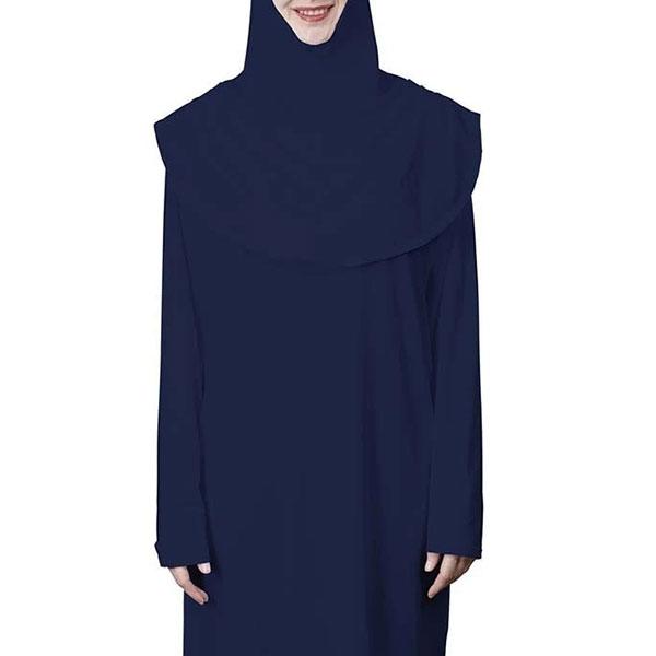 Abaya and Hijab Set - Navy