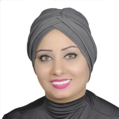 Turban Headband Lady Muslim Head Hijab Turban Wrap Cover Cotton Spandex Blend – Dark-grey