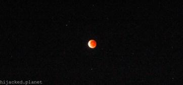 Blood Moon; Adelaide, SA