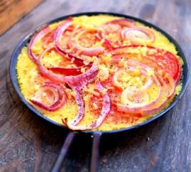 Nomelet med tomat og rødløg ♡