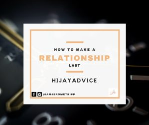 how to Make a relationship work