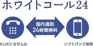 NURO光ホワイトコール24