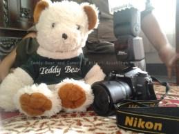 Teddy Bear and Camera