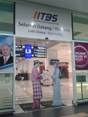 pintu masuk TBS