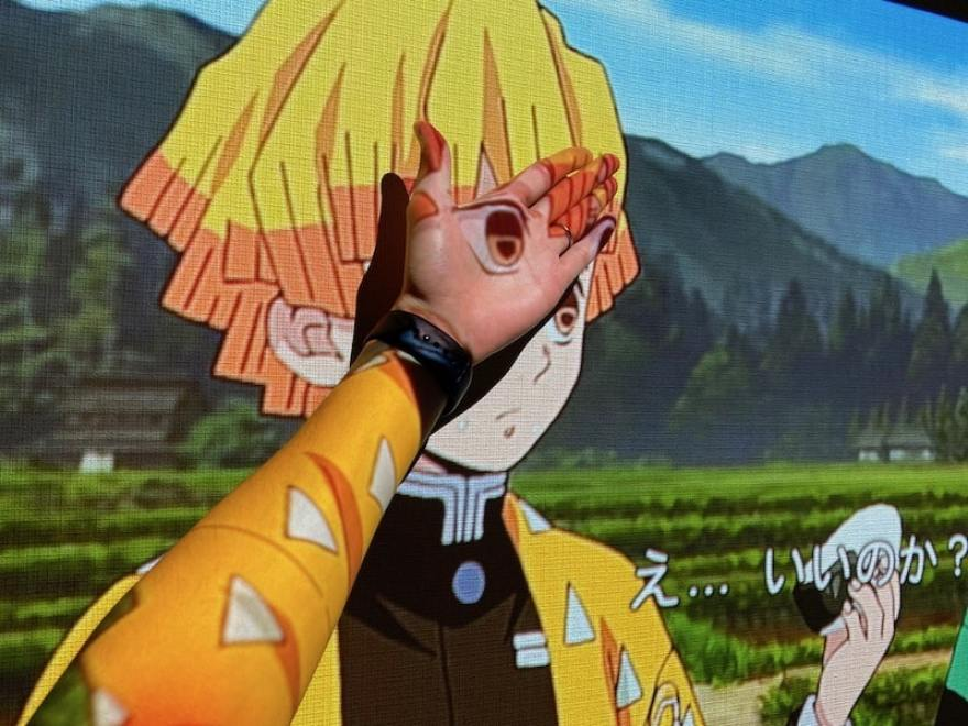 ポップインアラジン2/popIn Aladdin2アニメ映像に手を入れてみた様子