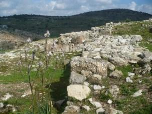 View of Mount Atzmon from Tel Yodafat