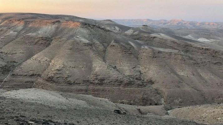Judean desert scenery