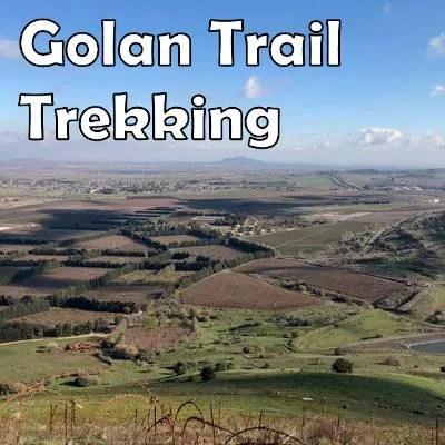 Trekking on the Golan Trail