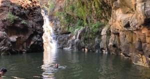hiking in yehudia natural reserve