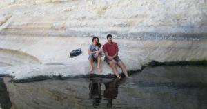 Ein Akev desert spring