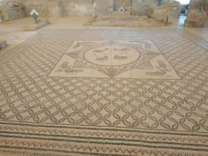 Ein Gedi Synagogue Mosaic floor
