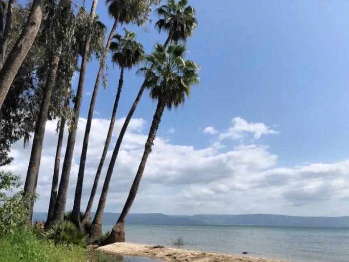 Sea of Galilee at Karey Deshe