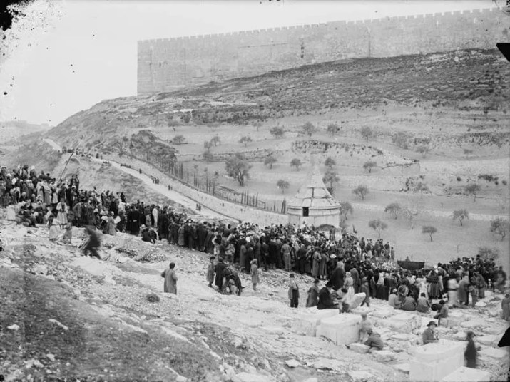 Kidron Valley in 1920