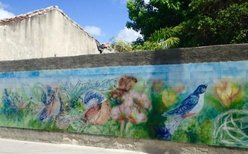 Lots of beautiful murals.