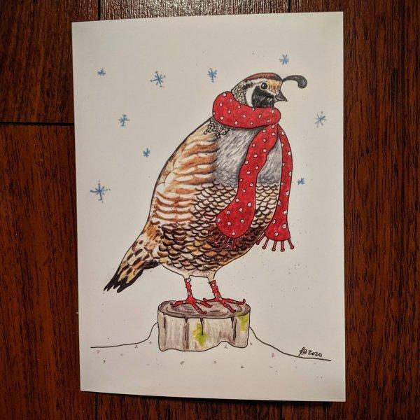 quail card