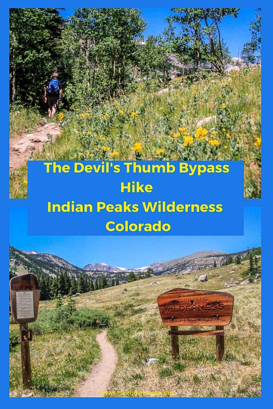 This is a difficult loop trail in indian peaks wilderness area. Hiking The Devils Thumb Bypass Trail Colorado Hike Bike Travel