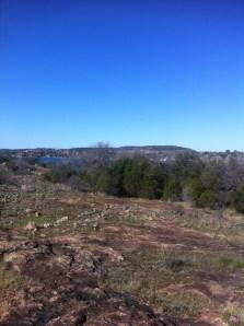 Blue skies along the hiking trails. (JP)