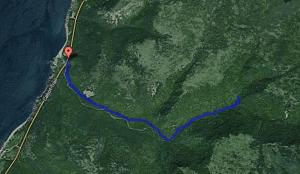 Corney Brook Track