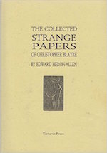 THE COLLECTED STRANGE PAPERS OF CHRISTOPHER BLAYRE