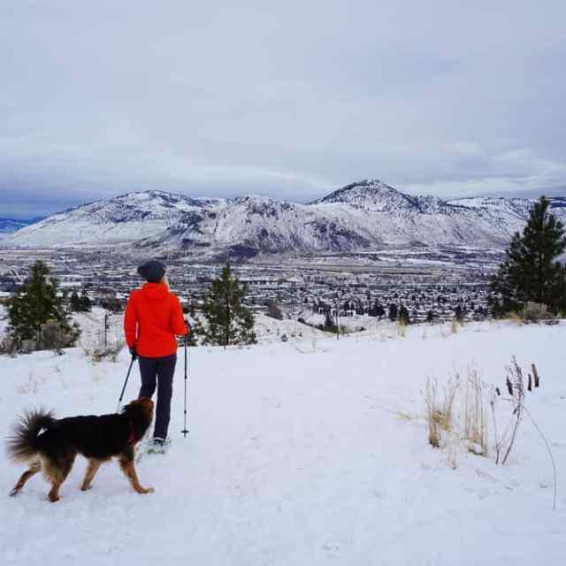 Grasslands Loop Snowshoe