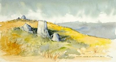 Stone Row, Mount Corrin