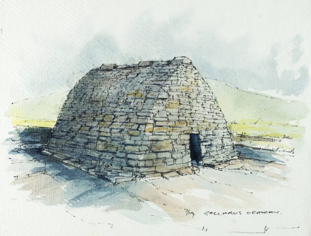Séipéilín Ghallarais (Gallarus Oratory)