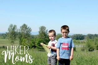 Rail Trail Ankeny Wildlife Refuge South Salem Oregon My boys Hiker Moms Hike Hiking Adventure