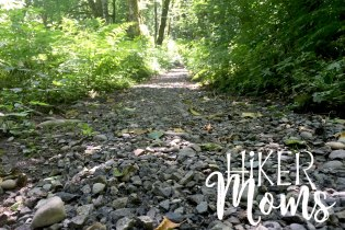 Maple Ridge Trail Estacada ORegon Milo McIver STate Park HIker Moms gravel path trail