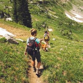 Nieuwjaarsgroet & Hiker Online Vrouwen