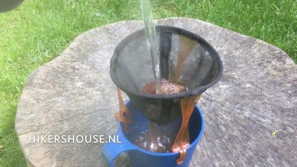Koffie voor hikers - Filterkoffie