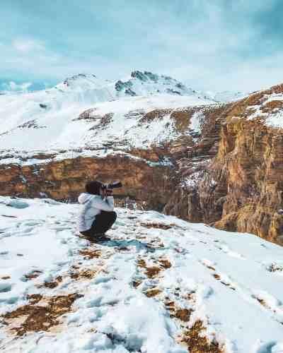 Kibber-village-winter-Spiti-Valley-hikesdaddy