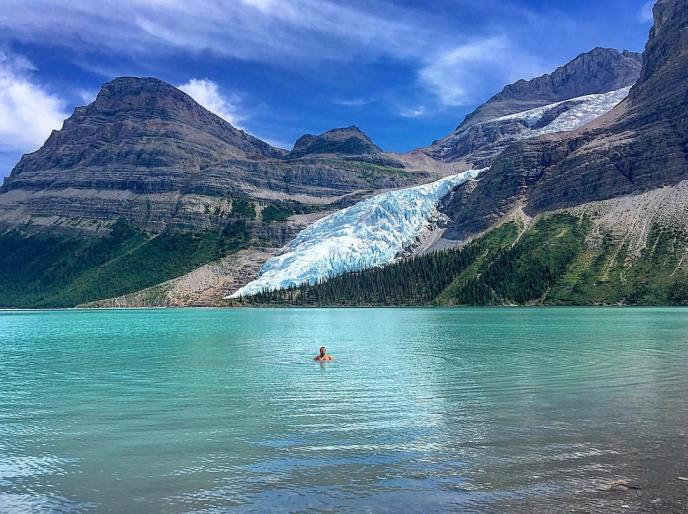 hikes near vancouver, berg lake, mount robson, rockies, swimming holes near vancouver, hiking, trails, bc, canada