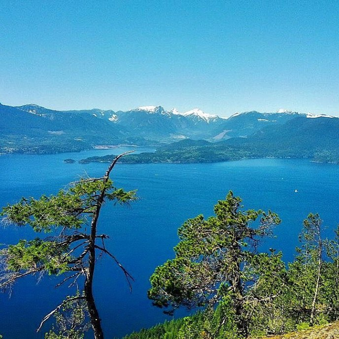 hikes near vancouver, mount gardner, bowen island, hiking trails, howe sound