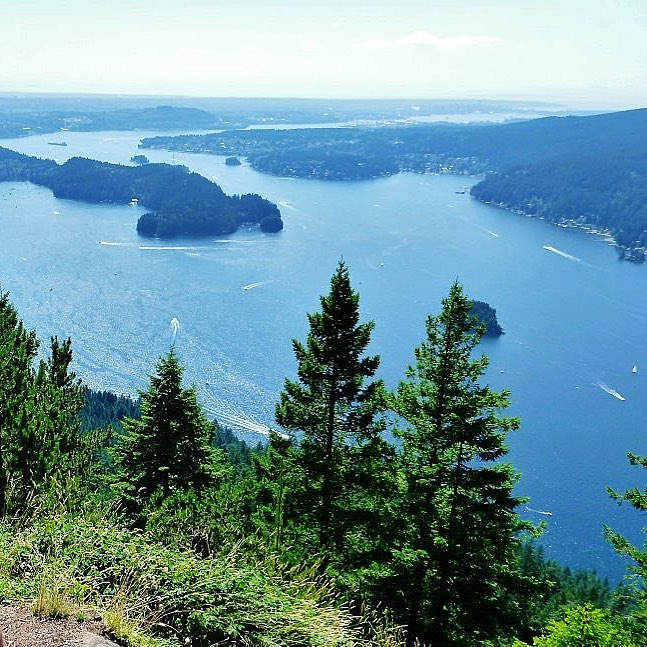 sendero diez vistas hiking trail, buntzen lake, anmore, hikes near vancouver
