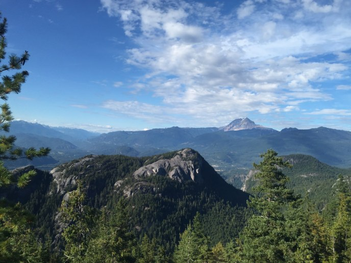 sea to summit hiking trail, squamish, gondola, the chief, hikes near vancouver