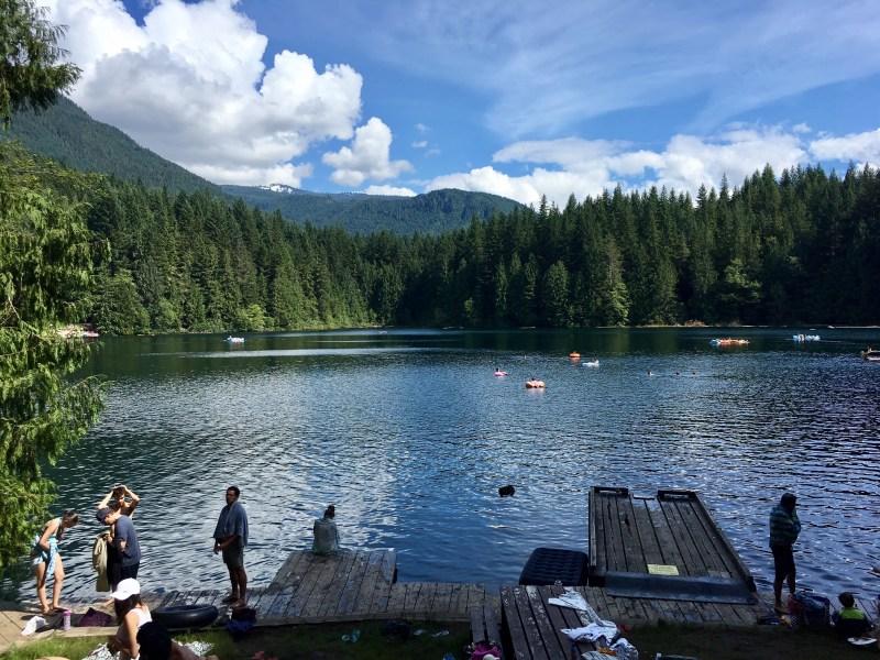 hikes near vancouver, swimming holes near vancouver, cat lake, squamish