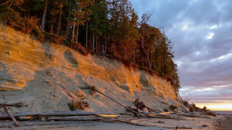 savary island, fragile ecosystem, desolation sound, lund
