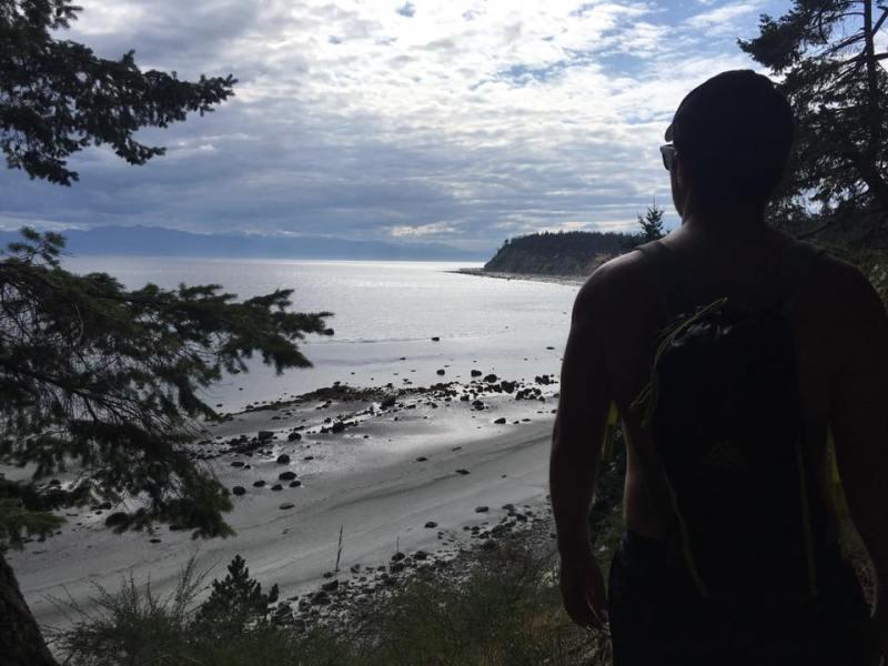 eagle ridge trail, savary island bc