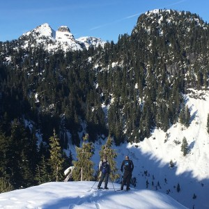 Snowshoe Trails Near Vancouver
