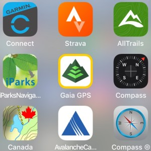 Awesome Hiking Apps