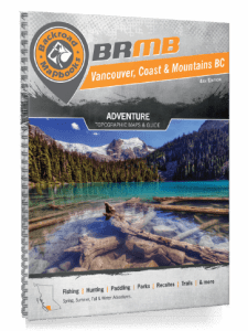 bc backroads mapbook vancouver coast and mountains