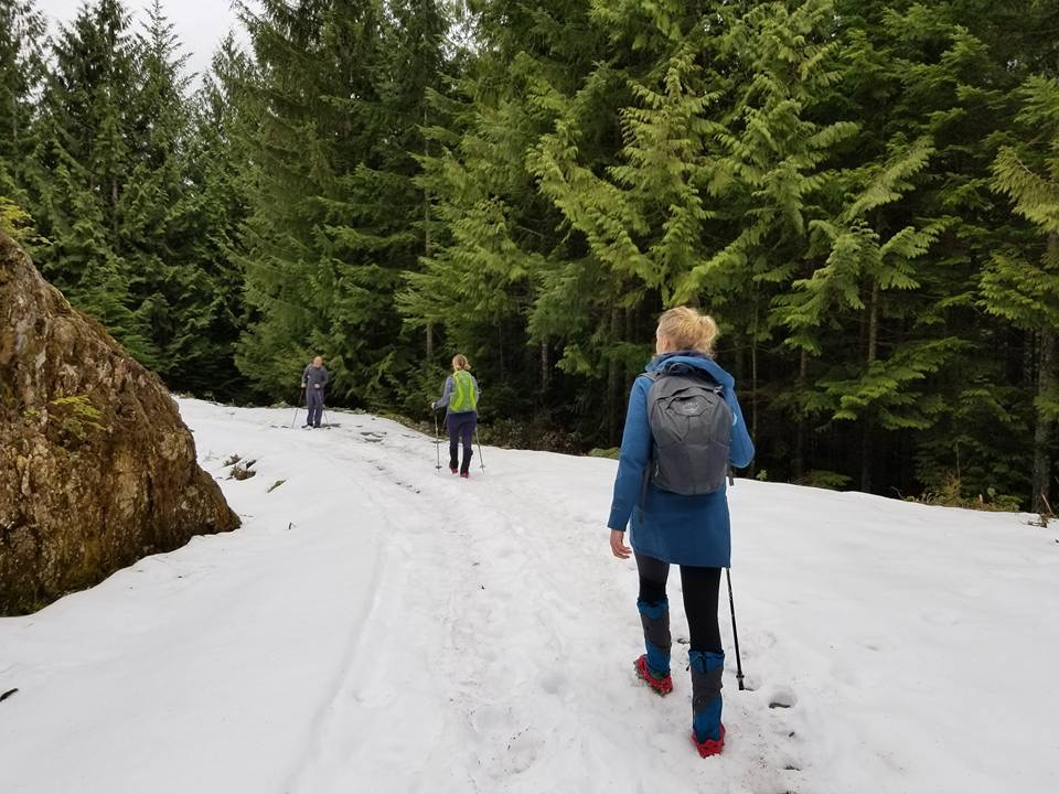 Hunter Road hike March 18, 2018