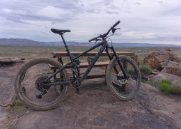 a dusty mountainbike in St. George