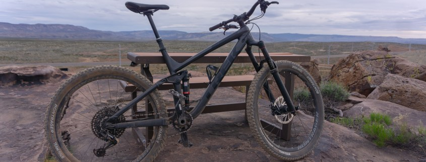 a dusty mountainbike in St. George