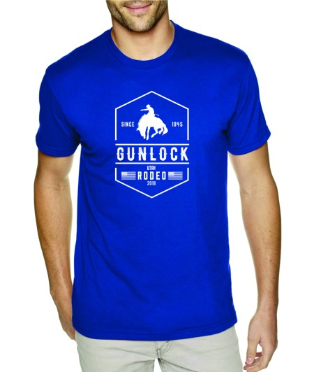 Gunlock Rodeo shirt in blue
