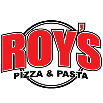 roy's pizza & pasta restaurant logo