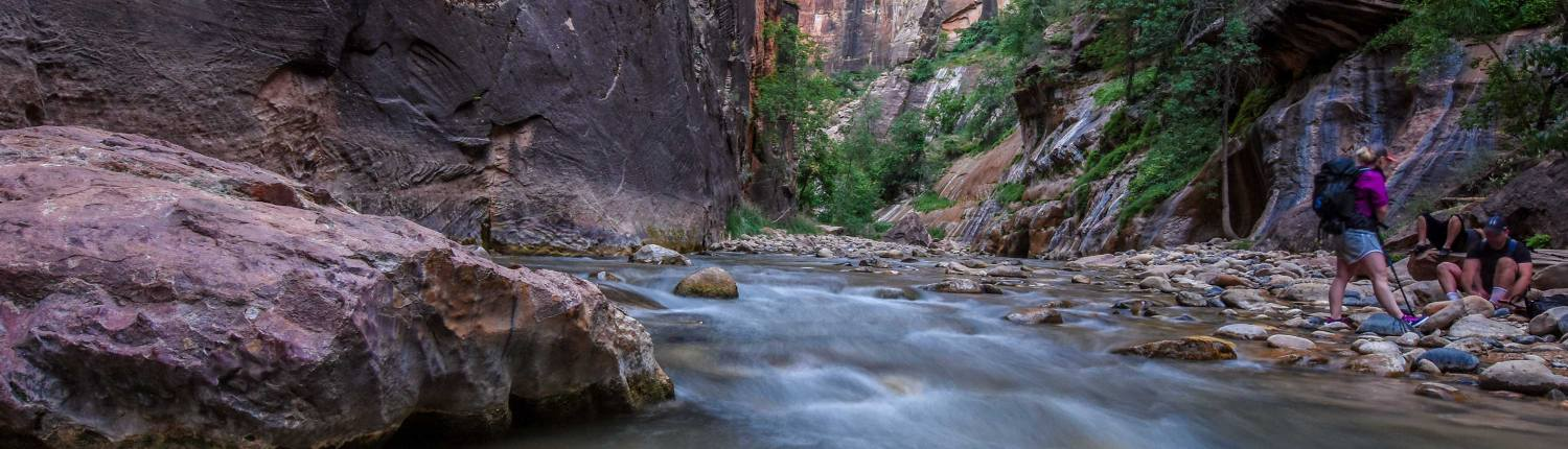 Zion National Park Now Issuing Top Down Narrows Permits